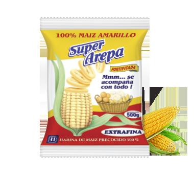 Super Arepa Maiz Amarillo