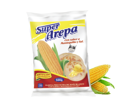 Super Arepa Mantequilla y Sal