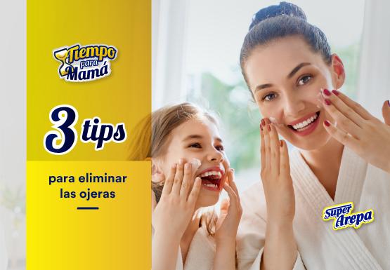 3 tips para eliminar las ojeras