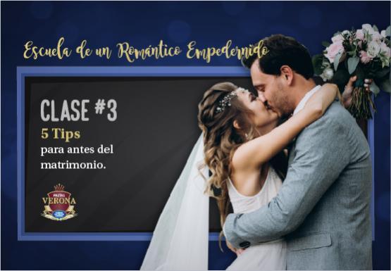 5 tips para antes del matrimonio