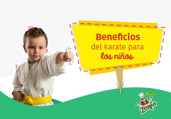 Beneficios del karate para los niños