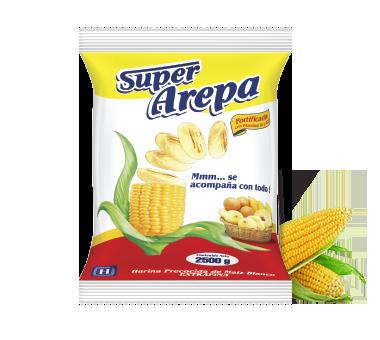 Super Arepa Maiz Blanco